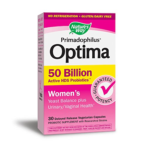 Nature's Way Primadophilus Optima Women's 50 Billion, Acidophilus, 30 Count (Packaging May (Best Nature's Way Probiotics For Women)