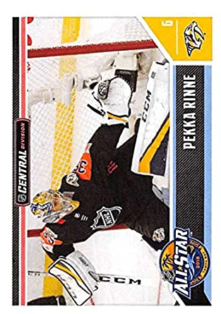 Amazon.com  2018-19 Panini NHL Stickers Collection  529 Pekka Rinne Central  Division All Stars Official Hockey Sticker (smaller than a regular card)   ... e80d71d26