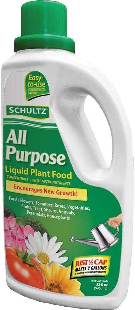 SCHULTZ All Purpose 10-15-10 Liquid Plant Food, 32-Ounce (3 Pack)