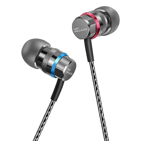 a0c5f66a168 HIFI WALKER A1 Cuffie intrauricolari ad alta risoluzione (Auricolari in ear  Cuffie con attenuazione del