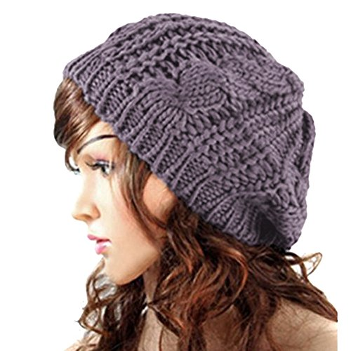 EUBUY Winter Chunky Knitted Braided