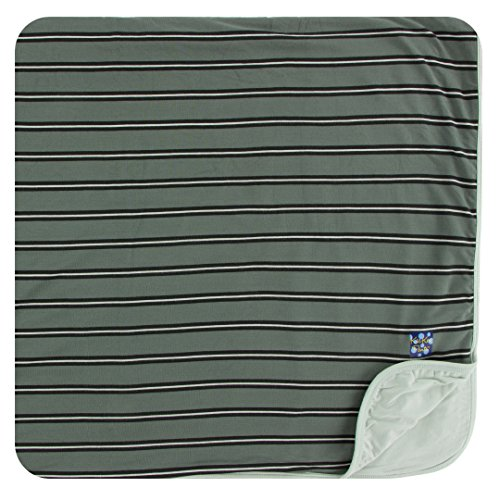 Kickee Pants Little Boys Print Toddler Blanket - Succulent Kenya Stripe, One Size