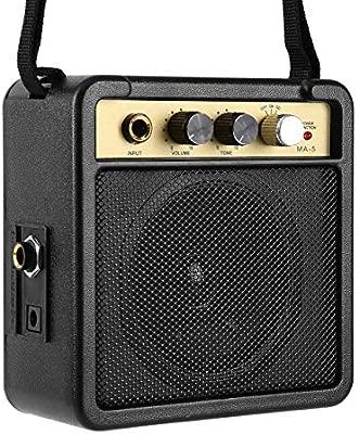 HONZIRY E-Wave Mini Amplificador de Guitarra Amplificador de ...