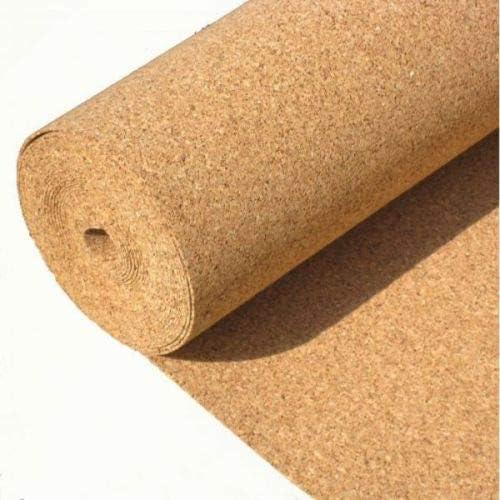 1/m x 10/m x 6/mm auf Rolle Dicke 6/mm 10 m/² Bodenunterlage aus Kork