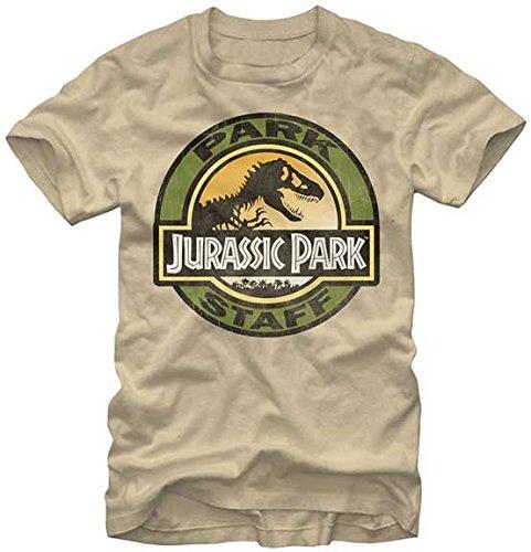 上回るバナナシンポジウムジュラシック パーク Tシャツ JURASSIC PARK Staff 正規品 スティーヴン?スピルバーグ 映画Tシャツ