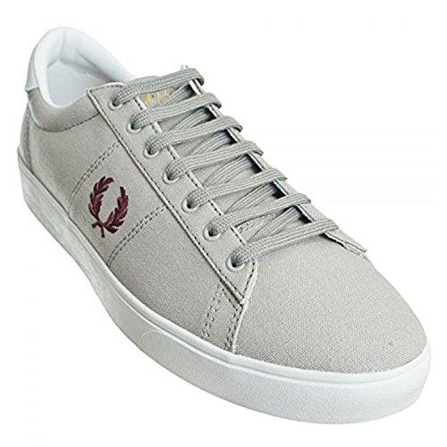 takestop - Zapatillas de Lona para hombre gris plateado