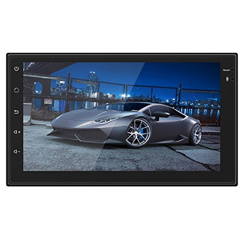 TOOGOO Android Car Radio mp4 mp5 Player Bluetooth wi-fi Navigation GPS 1G 16G Touch Screen 4 core 7 inch 2 DIN Stereo Audio (4 led Camera) by TOOGOO (Image #7)
