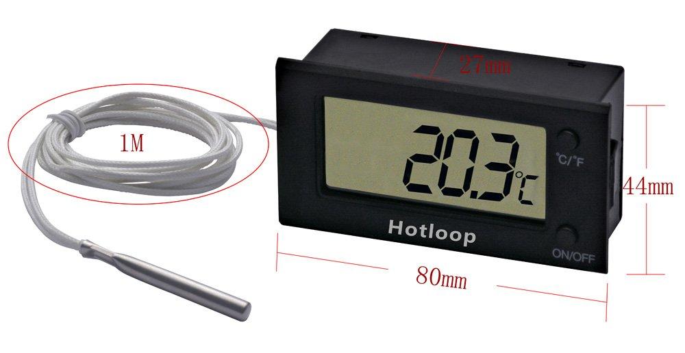 Hotloop thermom/ètre /à four num/érique r/ésistant /à la chaleur /à 300 /°C