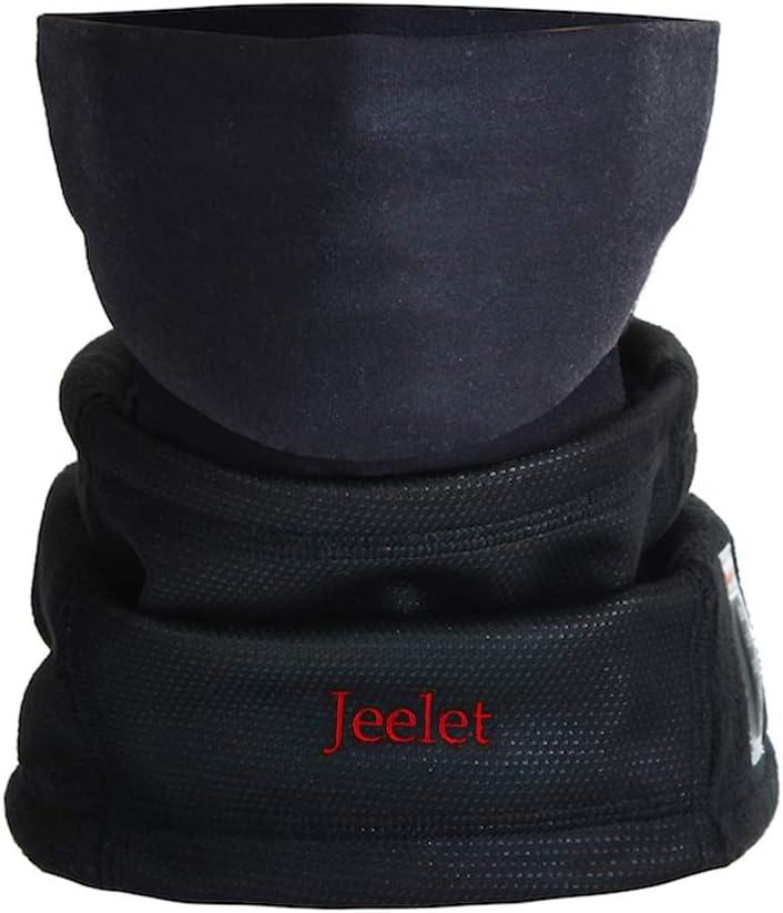 Calentador de Cuello Moto Unisex con Termómetro Pasamontañas Polar Antiviento Respirable Máscara de Esquí para Ciclismo Correr