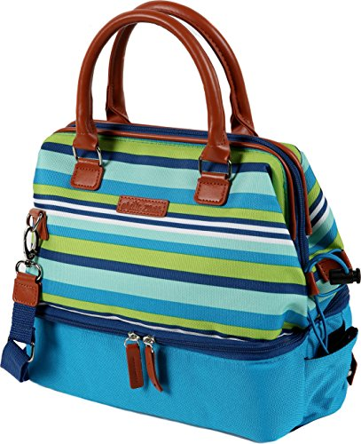 Arctic Zone 1528AMPR0427 Insulated Lunch Tote, Teal (Artic Lunch Bags Zone)