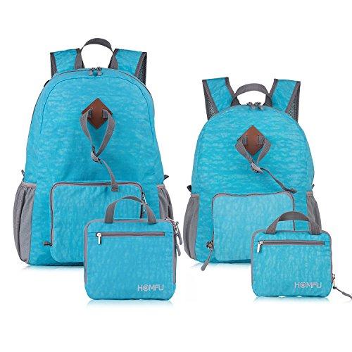 Homfu Foldable Backpack Packable Lightweight