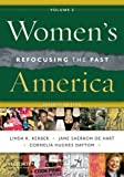 img - for Women's America, Volume 2: Refocusing the Past book / textbook / text book
