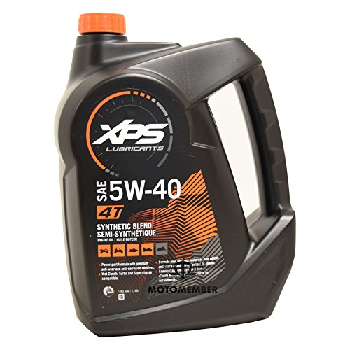 XPS 4 Stroke Synthetic Blend Engine Oil 5W-40 - Gallon - Can Am Spyder Sea Doo 779134 / 293600122 (Stroke Synthetic Motor Oil Blend)