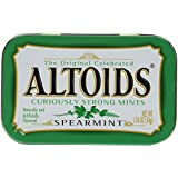 Altoids Curiously Strong Mints - Spearmint 1.76 oz (Pack of 6)