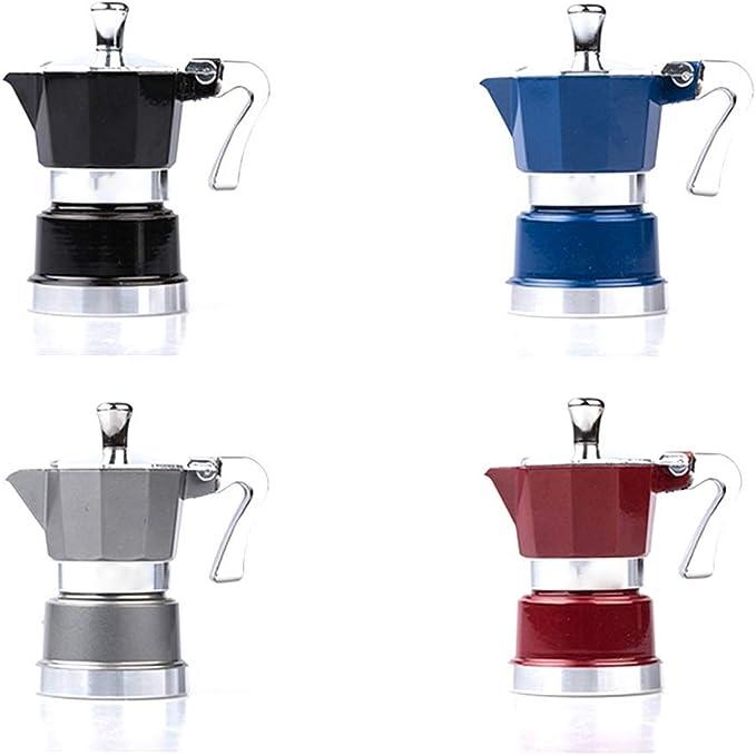 ODDINER Café Moka Pot Aluminio Mini Moka Pot Inicio Esenciales ...