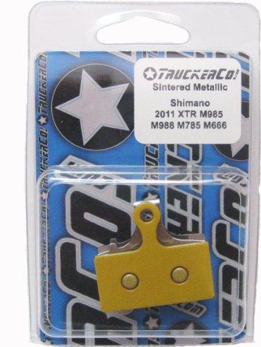 Sintered Metallic brake pads Shimano 2011-2015 XTR, XT, SLX, deore, BR-M9020 trail, (Pad Spring Race Disc)