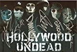 #6: Hollywood Undead band REPRINT signed 8x12 poster photo