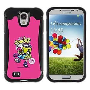 LASTONE PHONE CASE / Suave Silicona Caso Carcasa de Caucho Funda para Samsung Galaxy S4 I9500 / Graffiti Pop Soda Food Art Street