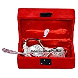 Marusthali Designer Silver Plated Twin Swan Shaped Bowl With Spoon Set of 2 Pcs