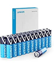 Anker Alkaline AA Batteries, Long-Lasting & Leak-Proof with PowerLock Technology, High Capacity Double A Batteries with Adaptive Power and Superior Safety (Pack of 24)