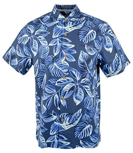 Tommy Bahama Men's Luna Leaves Camp Shirt-OD-L