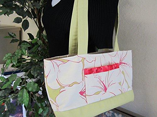 Handbag Purse Tropical Hibiscus Print Hibiscus Purse