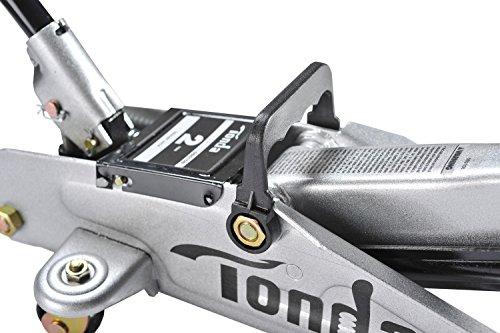 TONDA 2 Ton Capacity Garage Floor Jack Heavy Duty, Quick Lift(The max height 13.4 inches) by TONDA (Image #2)
