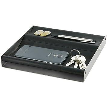 Artikle Leather Corporate Shelf for Accessories Mono Black 23 x 23 cm