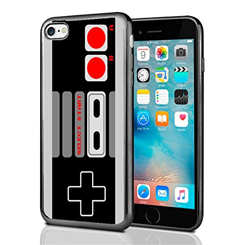 Old School Gaming Controller for iPhone 7 (2016) & iPhone 8 (2017) Case Cover by Atomic Market (Controller Game Iphone Case)