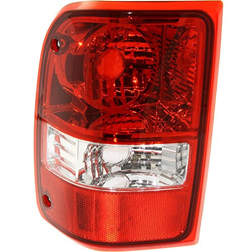 Evan-Fischer EVA15672024072 Tail Light for Ford Ranger 06-11 Lens and Housing Left Side