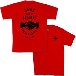 def3baa369494 Sketchy Tank Lurking Class Down with My Demons Short Sleeve Tee (RD) Shirt