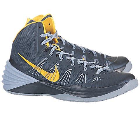 Nike Mens Hyperdunk 2013 Basketball Shoes Armory Slate Grey/Laser Orange 599537-402 Size 13