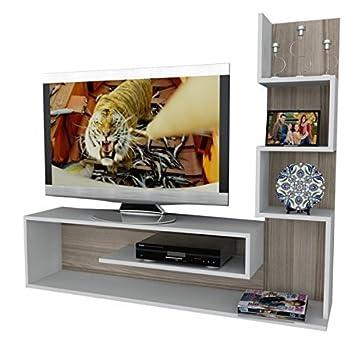 Alphamoebel Tv Board Lowboard Fernsehtisch Fernsehschrank Sideboard