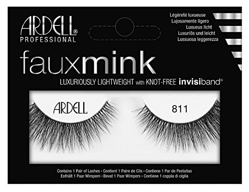 Ardell Faux Mink #811 Black Lashes (3 Pack) by Ardell