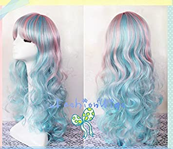 Amazon.com : 65cm Long Three Colors Beautiful Lolita Wigs, Anime Wig UF008 : Beauty