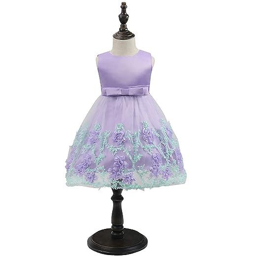COCKE Vestido for niños Vestido de Princesa Falda de Bowknot for ...