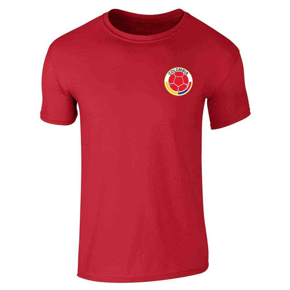 Amazon.com: Colombia Futbol - Camiseta de fútbol de manga ...