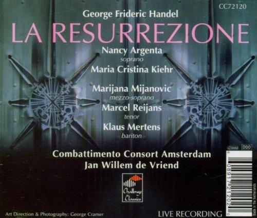 Handel: La Resurrezione by ECCO (Image #1)