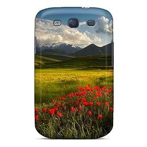High Grade KKFAN Flexible Tpu Case For Galaxy S3 - Poppies'corner