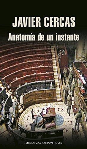 Portada del libro Anatomía de un instante de Javier Cercas