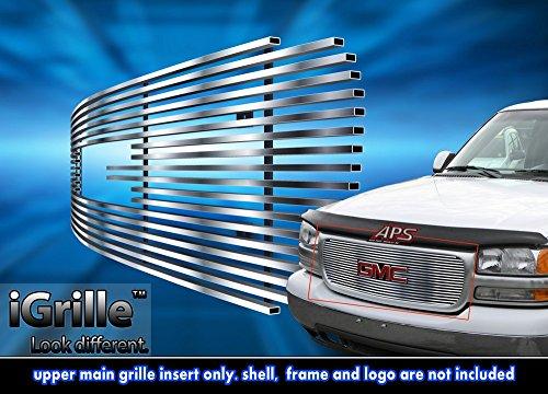 Stainless Steel eGrille Billet Grille Grill For 01-06 GMC Yukon Denali/Yukon/Sierra