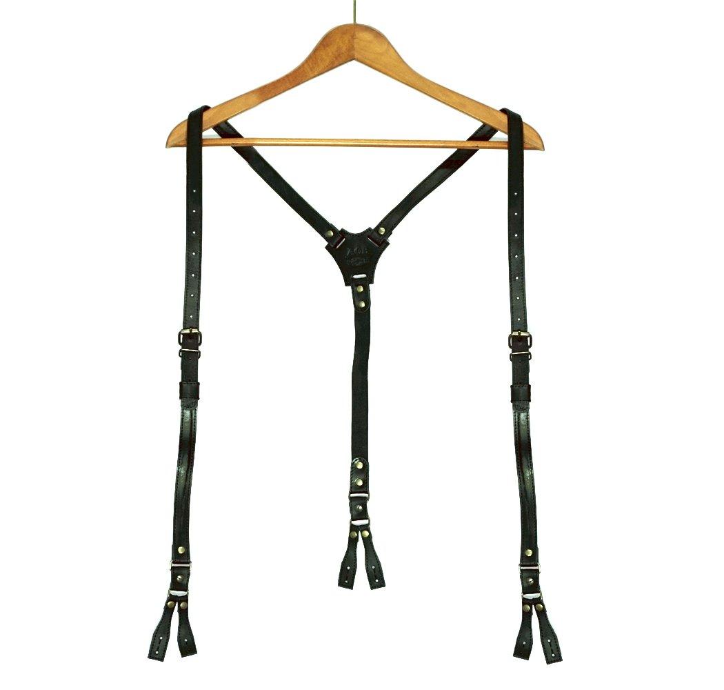 Suspenders for men, double clip suspenders, men suspenders braces Y-back by AGE (Image #2)
