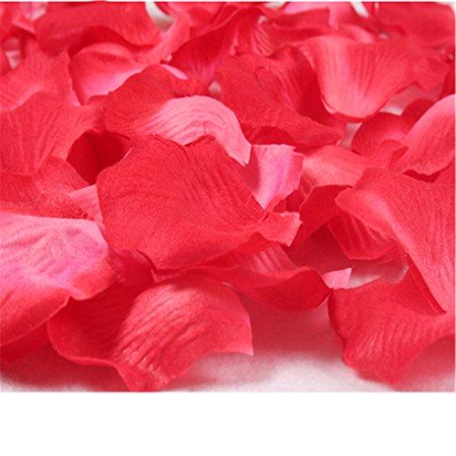 Excellent.Advanced® 7 Taschen/Lot Simulation stieg Blütenblätter Dekorationen Hochzeit Valentinstag Lieferungen