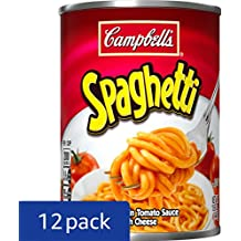 Campbell's Spaghetti, 15.8 Ounce (Pack of 12) (Packaging May Vary)