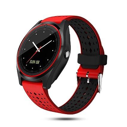 ZLOPV Smart Watch Bluetooth Marque/Llame a la Tarjeta SIM TF ...