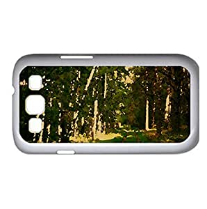 Forest Road Summertime Watercolor style Cover Samsung Galaxy S3 I9300 Case (Forests Watercolor style Cover Samsung Galaxy S3 I9300 Case)