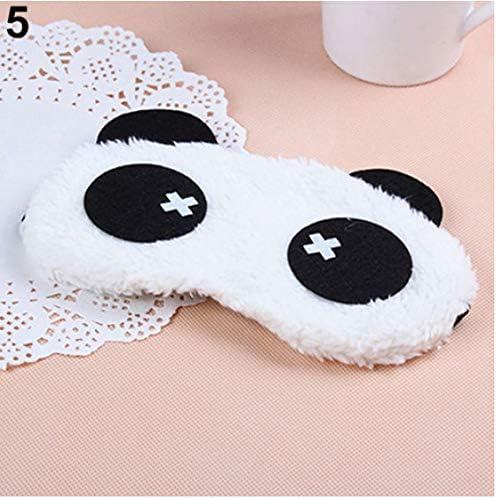 3d Women Mens Cartoon Soft Eye Sleep Mask Padded Shade Cover Rest High Qualitytravel Relax Sleeping Blindfold Hot Dropshipping A