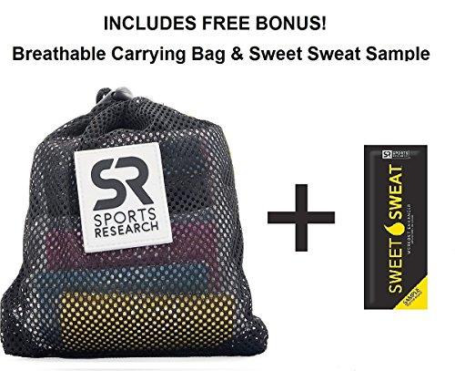 Sweet Sweat Premium Waist Trimmer (Pink logo) for Men & Women. Includes Free Sample of Sweet Sweat Gel! Size: Small
