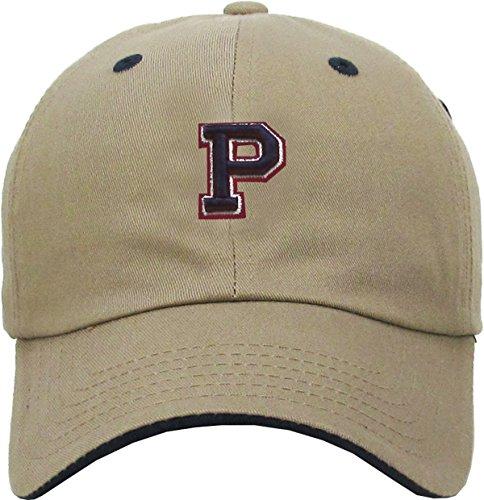 KPA-1463 KHK P Alphabet Letter Dad Hat Polo Cap Adjustable