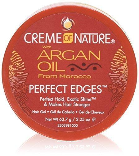 Creme Of Nature Argan Oil Perfect Edges Ctrl 2.25oz Jar  by